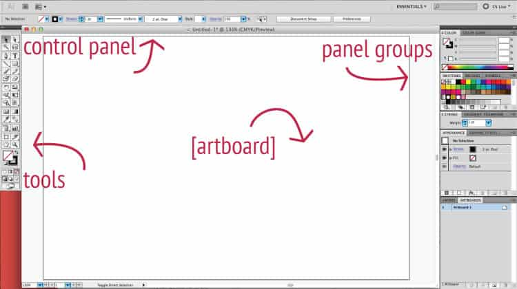 Introduction to Illustrator + Resources | oncecoupled.com