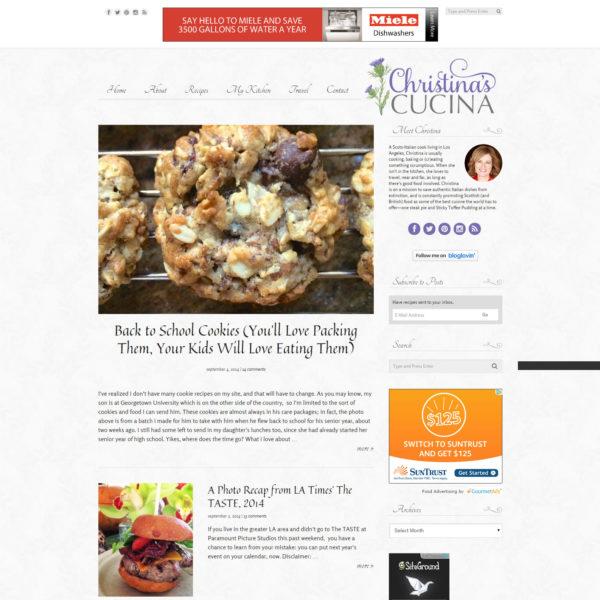 Christina's Cucina | oncecoupled.com