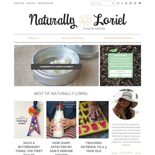 Naturally Loriel | oncecoupled.com
