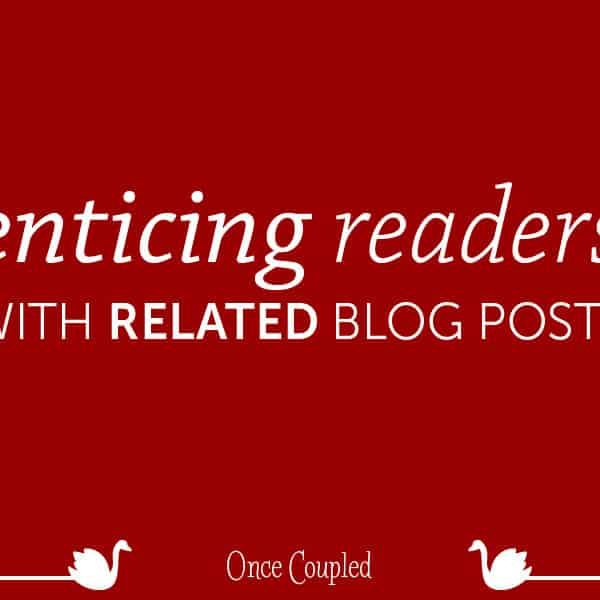 Enticing readers with related blog posts