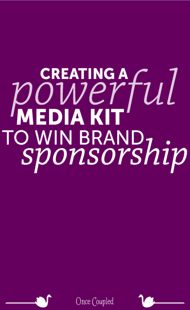 Creating a Powerful Media Kit to Win Brand Sponsorship