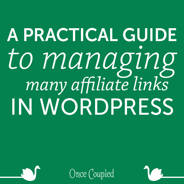A Pratical Guide to Managing Many Affiliate Links in WordPress