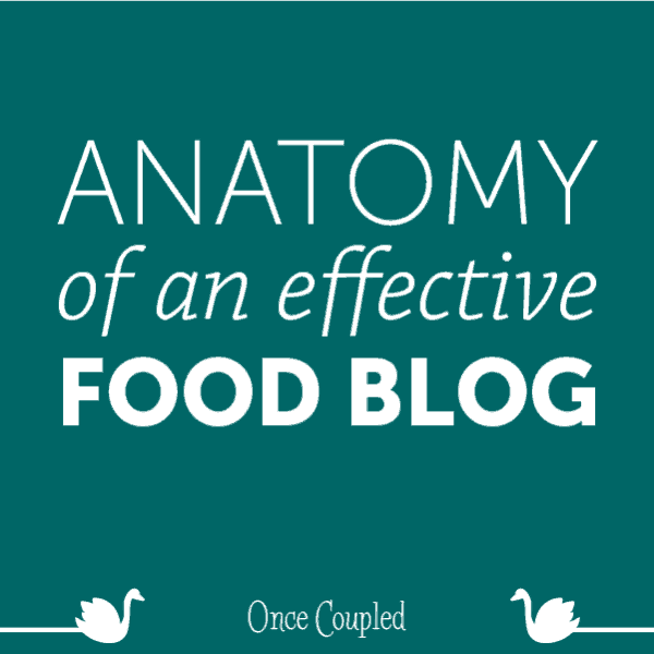 Anatomy of an Effective Food Blog