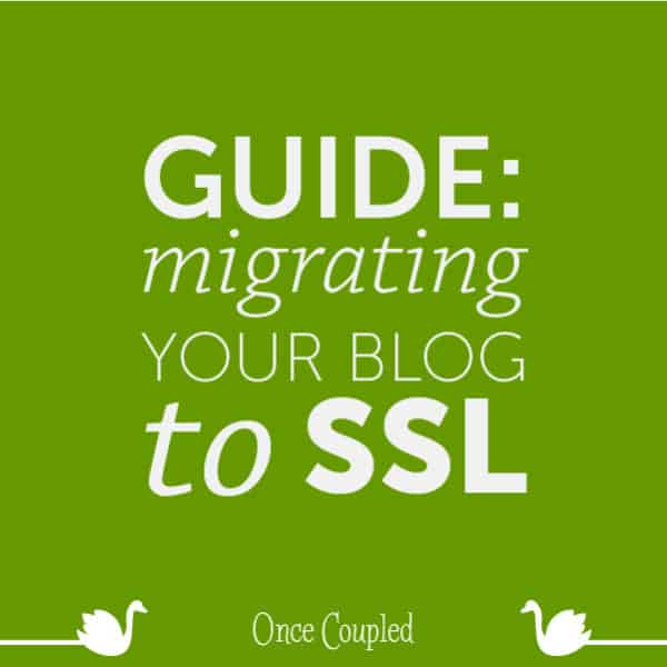 Guide: Migrating your Blog to SSL